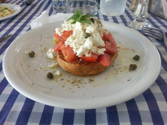 Agostinos Restaurant: bruschetta