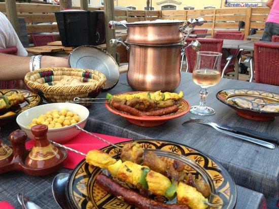 Le Comptoir Marrakech: Couscous