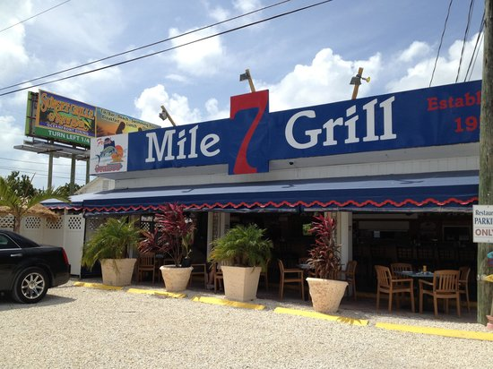 Seven Mile Grill : Good food in a relax atmosphere.