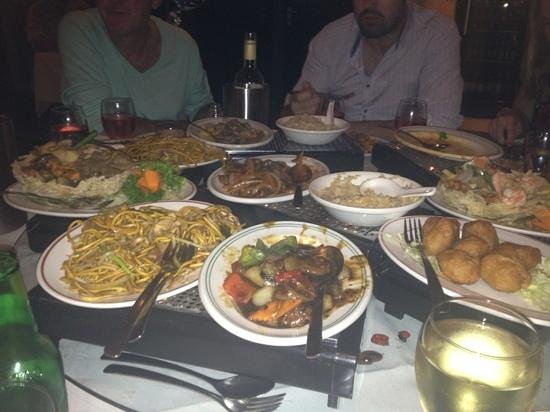 Ocean Cantonese Restaurant: some of our main course