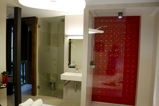 Antídoto Rooms: Bagno a vista