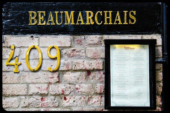Brasserie Beaumarchais: Entrée