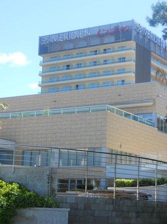 Le Meridien Lav Split: Vista frontal do Hotel