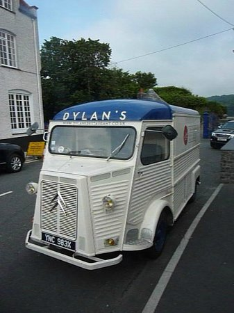 Dylan's: Their promotional 'delivery' van