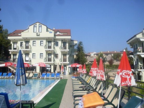 St Nicholas Grove Hotel: Pool view