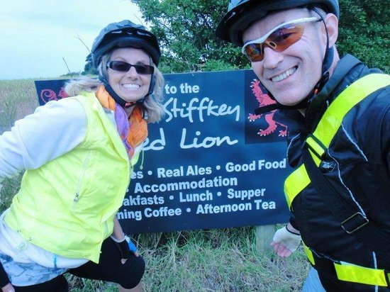 Entering Stiffkey Red Lion