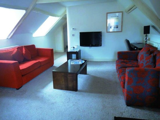 Stiffkey Red Lion: Welcoming sitting room