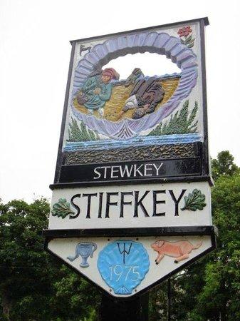 Stiffkey Red Lion: Leaving Stiffkey - boo hoo!