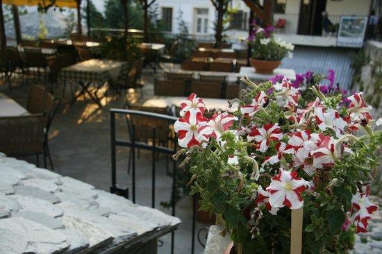 Agios Lavrentios, Greece: αποψη της ταβερνας