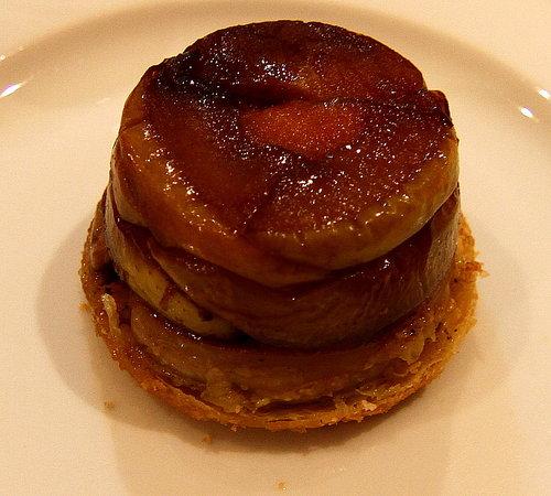 Chambres d'hotes Les Peyrouses : Tatin de foie gras