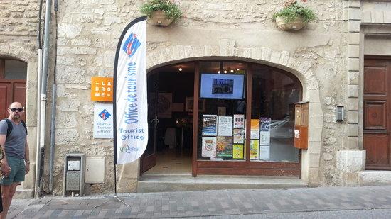 Etoile-sur-Rhone, France: Le bureau d'accueil