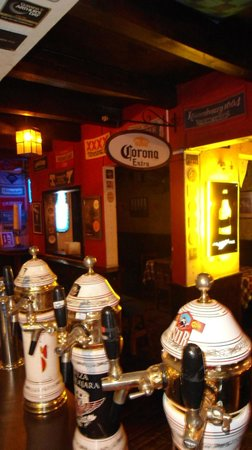 Temple Bar: Cervezas de barril