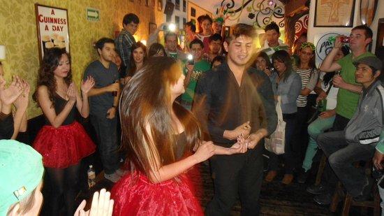 Temple Bar: Irish dancing