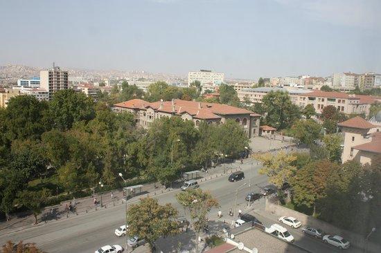 Radisson Blu Hotel, Ankara: View from 712