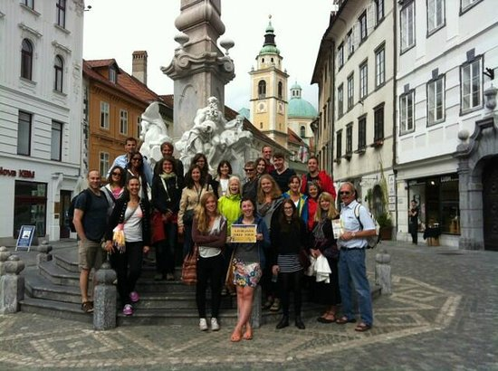 Ljubljana Free Tour : Our August 25th afternoon tour group