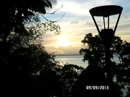 Hotel Pousada Natureza: puesta de sol