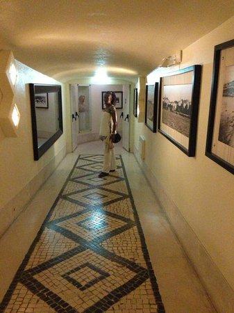 Hotel do Cerro : Along the corridor to reception