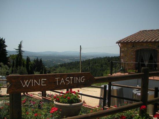 Sant'Agnese Farm : Wine Tasting!
