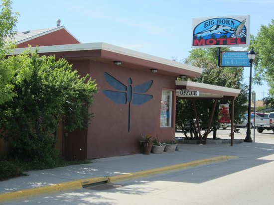Big Horn Motel: Our Main Street frontage