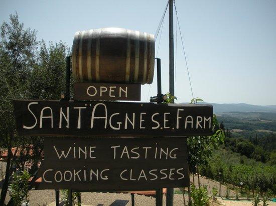 Sant'Agnese Farm : Signage