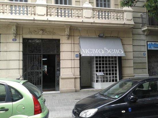 Vic Braseria: fachada exterior del restaurante