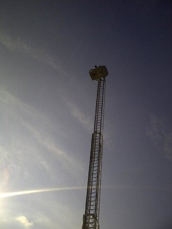 MainStay Suites Camp Lejeune: Grand Opening - Tribute to 9/11 Event:  Fire Department Extended Ladder