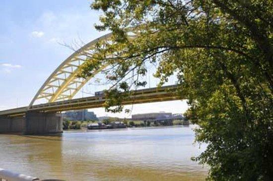 Riverwalk: Ohio River (Cincinnati side)