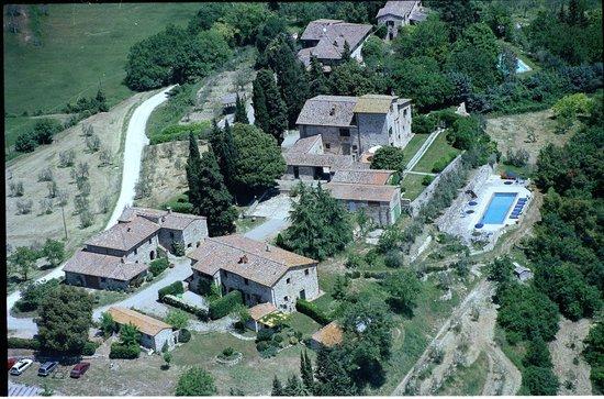 Azienda Agricola Masseto: Foto aerea