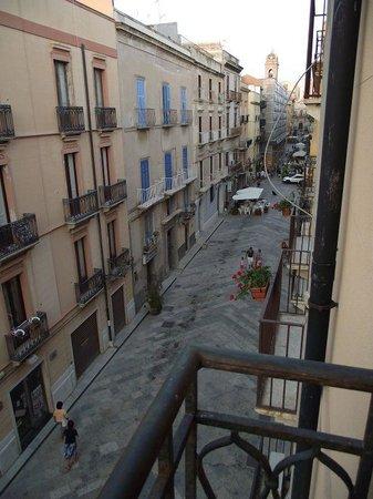Palazzo Ossuna Residence: View of Corso Vitt. Emanuele