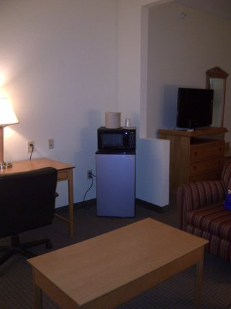 Best Western Plus Newport News Inn & Suites: Microwave and fridge