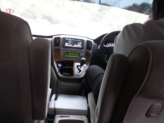 Island Transfer and Tours - Day Tours: Interior of van...