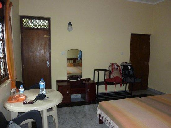 Freedom Lodge : Chambre 1° étage avec balcon