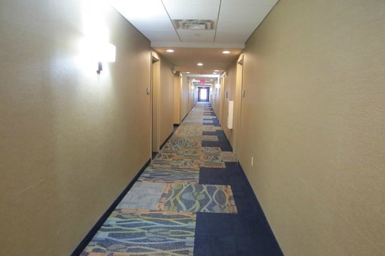 Hampton Inn Chattanooga West/Lookout Mountain : Main Hallway