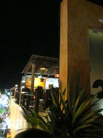 Hotel El Punto: rooftop bar