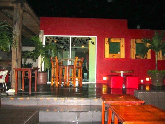 Hotel El Punto: azotea bar