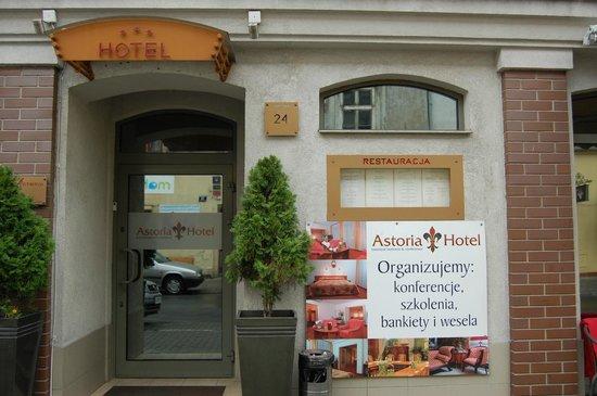 Hotel Astoria : Exterior of the hotel