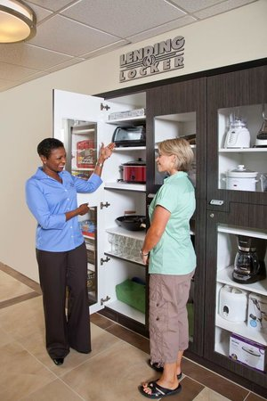 Candlewood Suites Greenville: Forget Something?  Check out the Lending Locker!