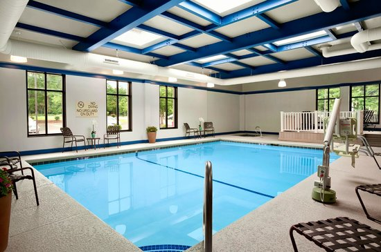 Hilton Garden Inn Rochester/Pittsford: Indoor Pool