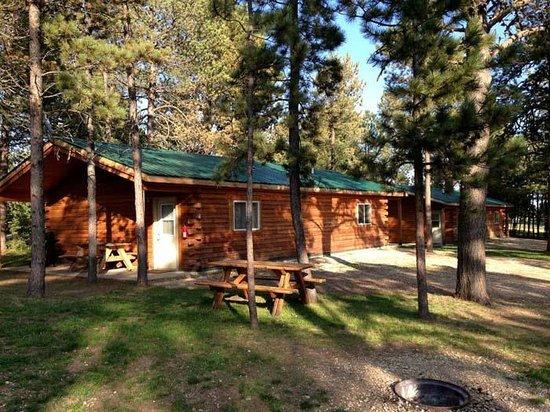Cabin picture of mystic hills hideaway deadwood for Cabins near deadwood sd