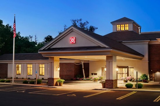 Hilton Garden Inn Rochester/Pittsford : Exterior - Night