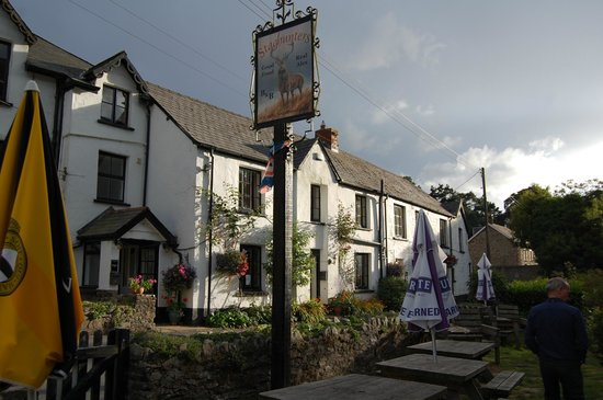 The Stag Hunters Hotel : View from the Beer Garden