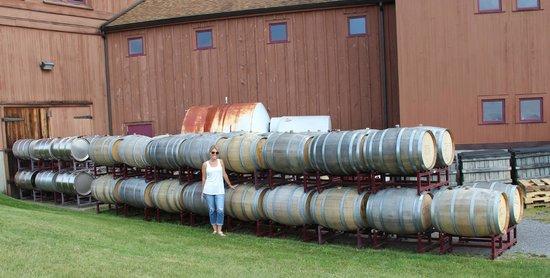 The Inn at Grist Iron: Glenora wine cellars