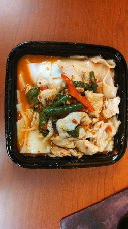 Pork Drunken Noodles Thai HotPicture of Thai Tada, Herndon