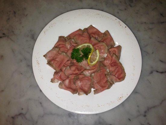 Pizzeria Ristorante IL Saraceno: roast beef all'inglese