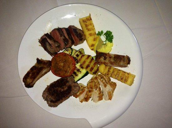 Pizzeria Ristorante IL Saraceno: grigliata di carne