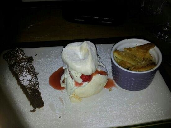 The Wheatsheaf Inn Restaurant and Bar: yummy
