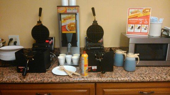 Best Western Village Inn: sala colazione