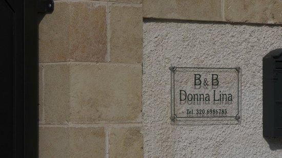 B&B DonnaLina: Particolari.