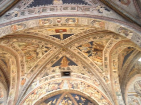 Battistero di San Giovanni: Soffitto