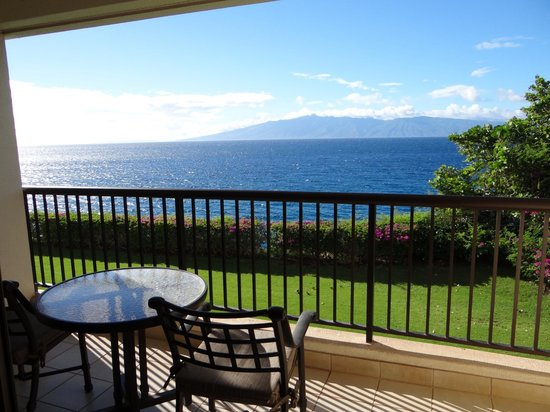 Sheraton Maui Resort & Spa: View from our room.